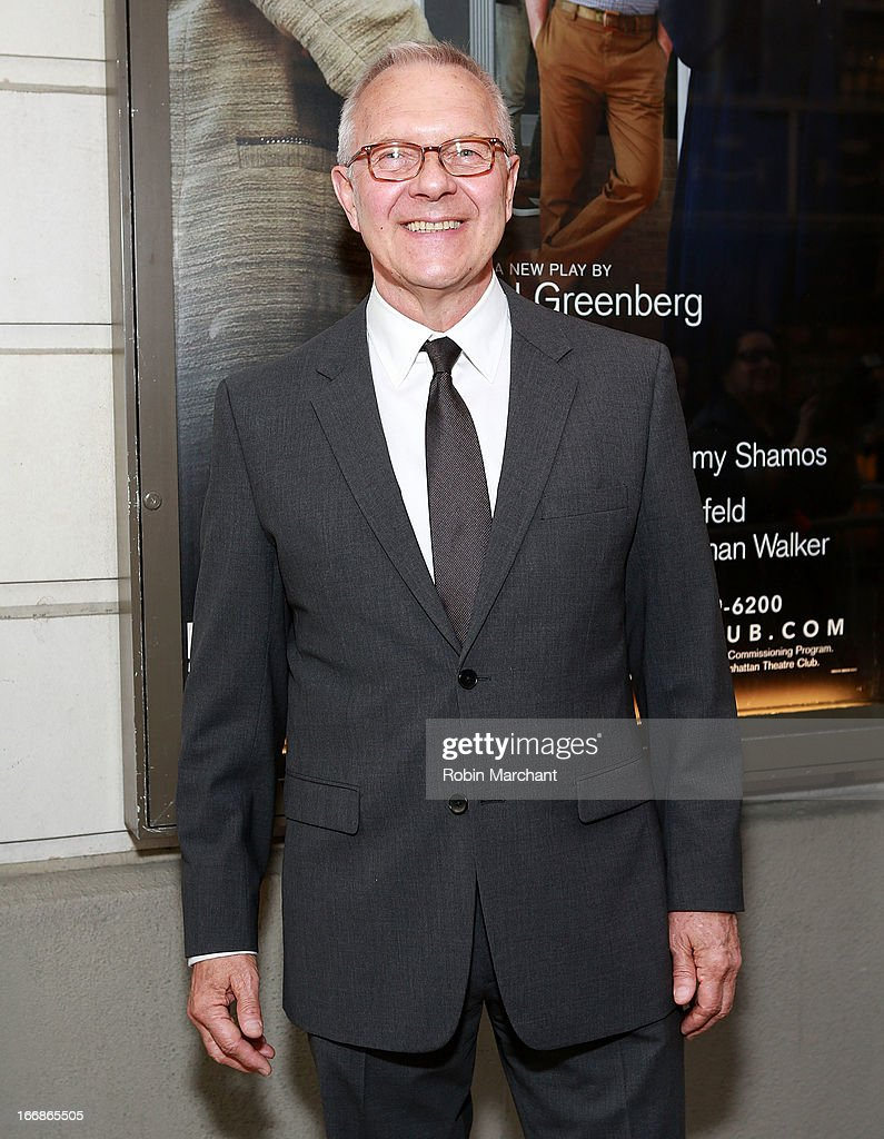 Director Walter Bobbie attends the 'The Assembled Parties' opening night at Samuel J. Friedman Theatre on April 17, 2013 in New York City.