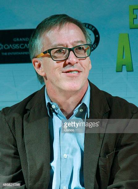 Director Walter Doehner looks on during the presentation of the film 'Entrenando a mi papá' on September 21 2015 in Mexico City Mexico