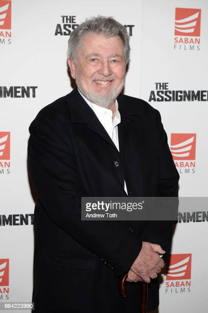 Director Walter Hill attends 'The Assignment' screening at the Whitby Hotel on April 3 2017 in New York City