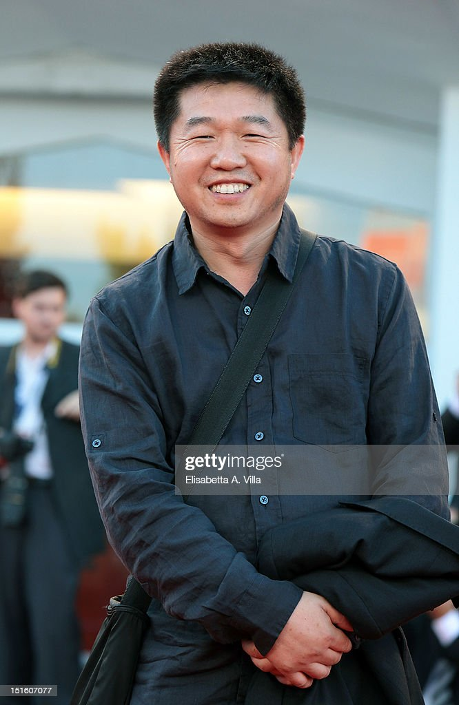 Director Wang Bing attends the Award Ceremony during the 69th Venice Film Festival at the Palazzo del Cinema on September 8, 2012 in Venice, Italy.