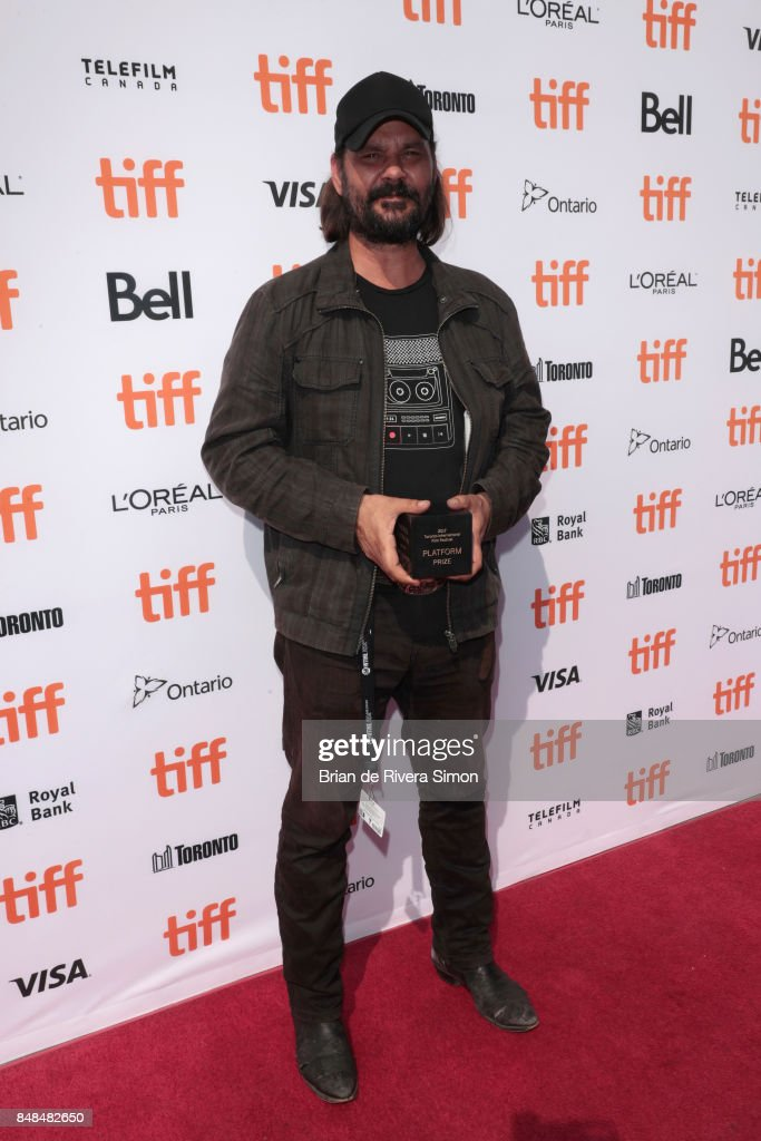 Director Warwick Thornton poses after being awarded the 2017 Toronto Platform Prize for 'Sweet Country' at the 2017 TIFF Awards Ceremony at TIFF Bell Lightbox on September 17, 2017 in Toronto, Canada.