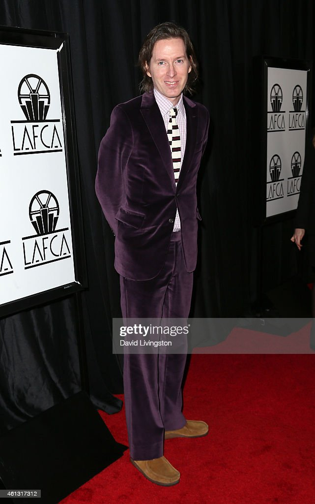 Director Wes Anderson attends the 40th Annual Los Angeles Film Critics Association Awards at the Intercontinental Century City on January 10 2015 in...