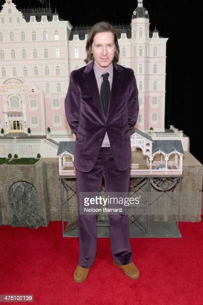 Director Wes Anderson attends 'The Grand Budapest Hotel' premiere at Alice Tully Hall on February 26 2014 in New York City