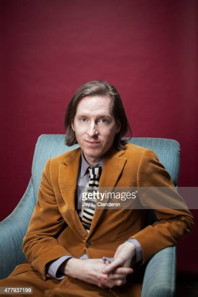 Director Wes Anderson is photographed for Los Angeles Times on March 4 2014 in Los Angeles California PUBLISHED IMAGE CREDIT MUST READ Jay L...