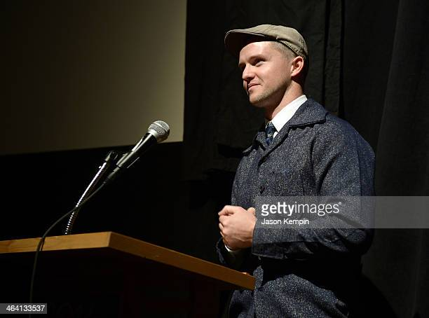 Director William Eubank attends 'The Signal' Premiere during the 2014 Sundance Film Festival at Library Center Theater on January 20 2014 in Park...