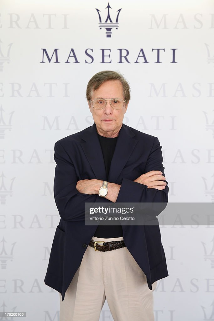 Director <a gi-track='captionPersonalityLinkClicked' href=/galleries/search?phrase=William+Friedkin&family=editorial&specificpeople=626545 ng-click='$event.stopPropagation()'>William Friedkin</a> during the 70th Venice International Film Festival at Terrazza Maserati on August 28, 2013 in Venice, Italy.