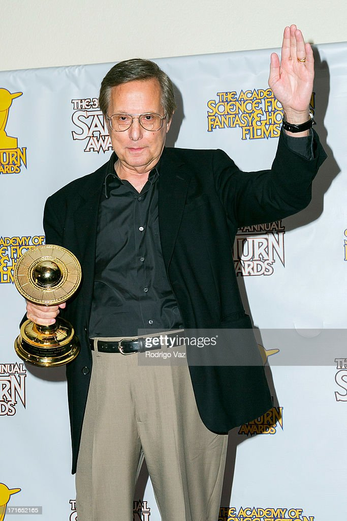Director <a gi-track='captionPersonalityLinkClicked' href=/galleries/search?phrase=William+Friedkin&family=editorial&specificpeople=626545 ng-click='$event.stopPropagation()'>William Friedkin</a> receoves an award at the 39th Annual Saturn Awards at The Castaway on June 26, 2013 in Burbank, California.