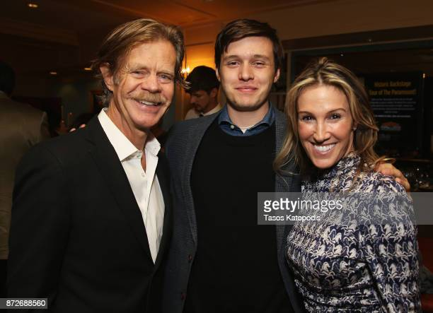 Director William H Macy actor Nick Robinson and producer Rachel Winter attend the 30th Annual Virginia Film Festival at the University of Virginia in...