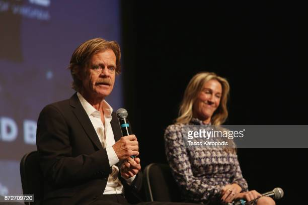 Director William H Macy and producer Rachel Winter speak onstage at the 'Krystal' screening and QA at Paramount Theater during the 30th Annual...