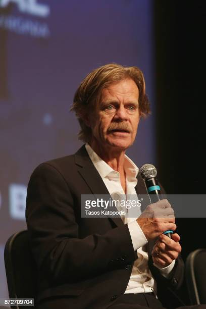Director William H Macy speaks onstage at the 'Krystal' screening and QA at Paramount Theater during the 30th Annual Virginia Film Festival at the...