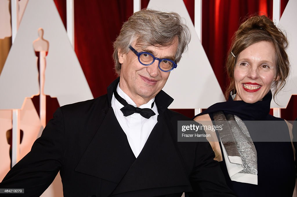 Director Wim Wenders and Donata Wenders attend the 87th Annual Academy Awards at Hollywood Highland Center on February 22 2015 in Hollywood California
