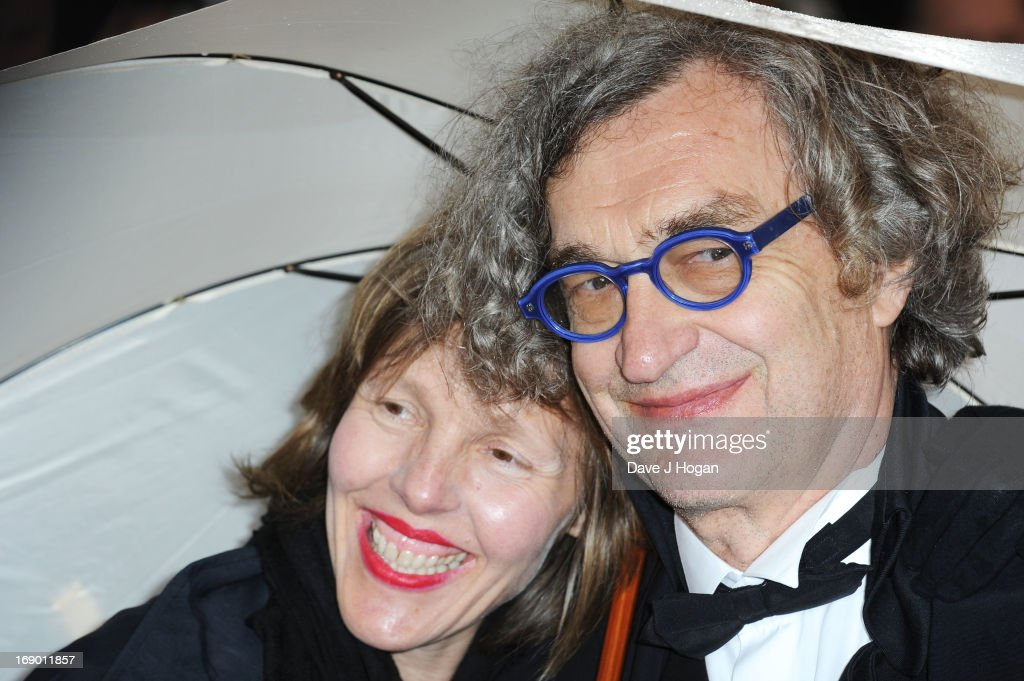Director Wim Wenders (R) and his wife Donata Wenders attend the 'Jimmy P. (Psychotherapy Of A Plains Indian)' Premiere during the 66th Annual Cannes Film Festival at the Palais des Festivals on May 18, 2013 in Cannes, France.
