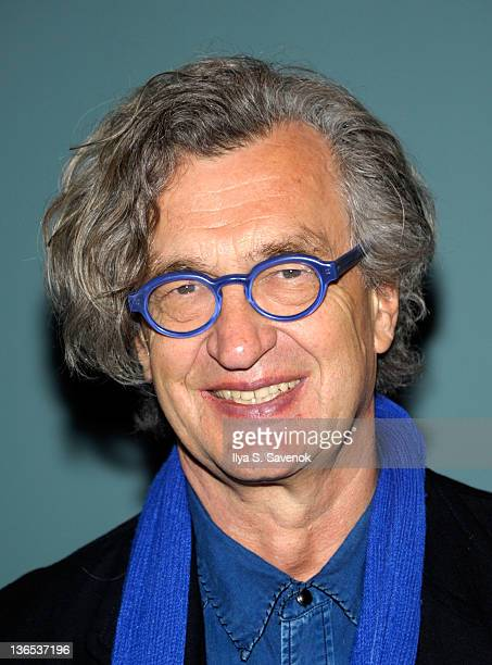 Director Wim Wenders attends a screening of 'Pina' at The Film Society of Lincoln Center Walter Reade Theatre on January 7 2012 in New York City