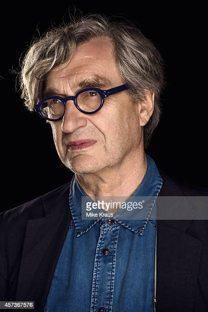 Director Wim Wenders is photographed for Self Assignment on July 1 2014 in Munich France