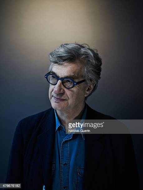Director Wim Wenders is photographed for Self Assignment on March 3 2015 in Berlin Germany