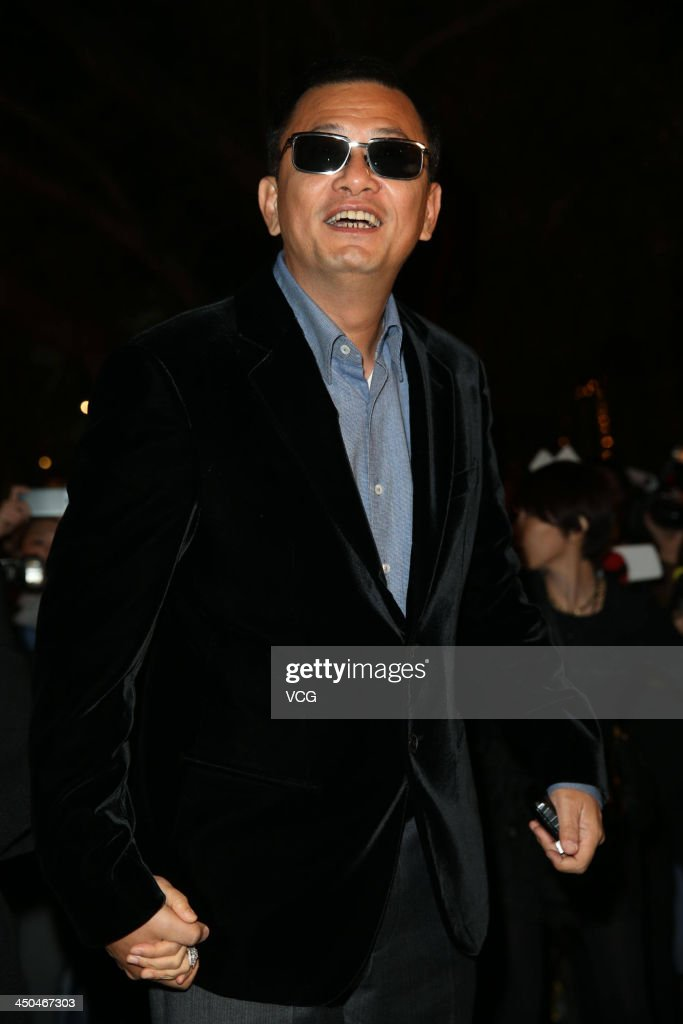 Director Wong Kar-wai attends Chang Chen's wedding ceremony on November 18, 2013 in Taipei, Taiwan.