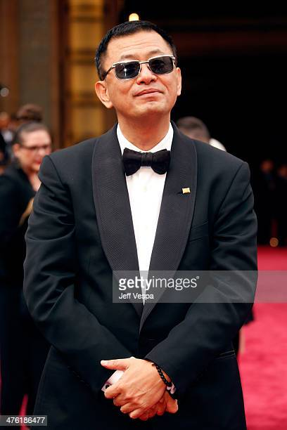 Director Wong KarWai attends the 86th Oscars held at Hollywood Highland Center on March 2 2014 in Hollywood California
