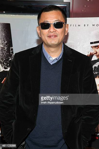Director Wong Karwai attends the screening of 'The Grandmaster' at American Cinematheque's Egyptian Theatre on January 6 2014 in Hollywood California