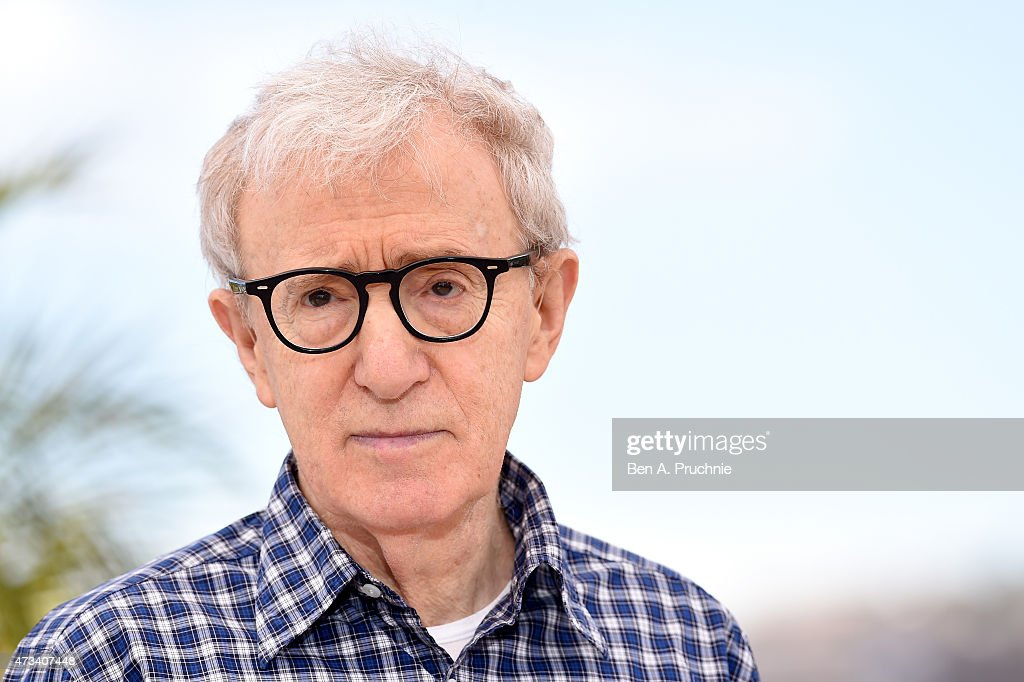 Director <a gi-track='captionPersonalityLinkClicked' href=/galleries/search?phrase=Woody+Allen&family=editorial&specificpeople=202886 ng-click='$event.stopPropagation()'>Woody Allen</a> attends a photocall for 'Irrational Man' during the 68th annual Cannes Film Festival on May 15, 2015 in Cannes, France.