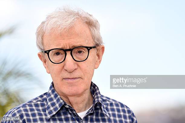 Director Woody Allen attends a photocall for 'Irrational Man' during the 68th annual Cannes Film Festival on May 15 2015 in Cannes France