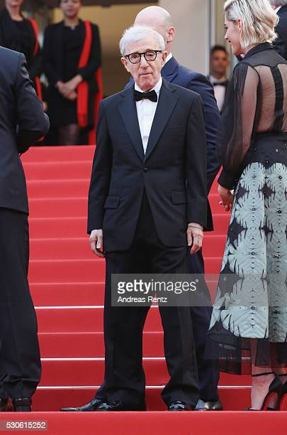Director Woody Allen attends the 'Cafe Society' premiere and the Opening Night Gala during the 69th annual Cannes Film Festival at the Palais des...