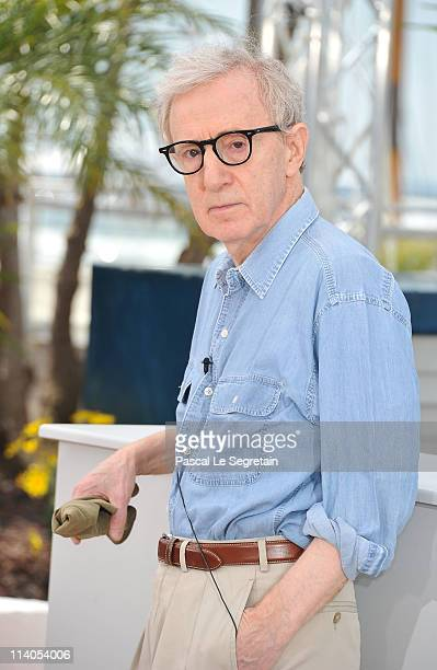 Director Woody Allen attends the 'Midnight In Paris' photocall at the Palais des Festivals during the 64th Cannes Film Festival on May 11 2011 in...