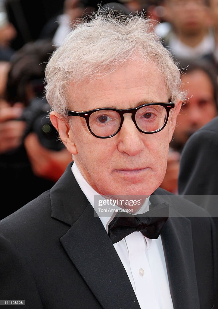 Director <a gi-track='captionPersonalityLinkClicked' href=/galleries/search?phrase=Woody+Allen&family=editorial&specificpeople=202886 ng-click='$event.stopPropagation()'>Woody Allen</a> attends the Opening Ceremony and 'Midnight In Paris' Premiere at the Palais des Festivals during the 64th Cannes Film Festival on May 11, 2011 in Cannes, France.
