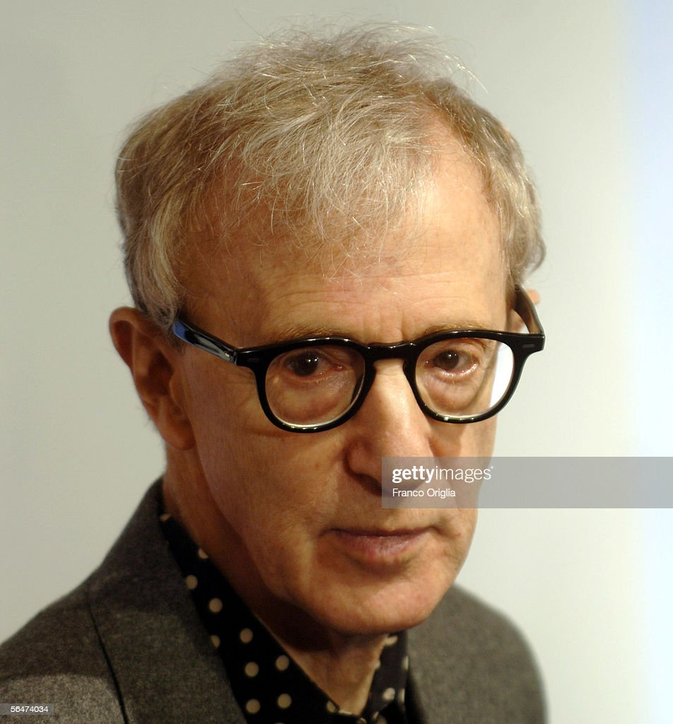 Director <a gi-track='captionPersonalityLinkClicked' href=/galleries/search?phrase=Woody+Allen&family=editorial&specificpeople=202886 ng-click='$event.stopPropagation()'>Woody Allen</a> attends the premiere of his new film 'Match Point' at the Embassy Cinema on December 20, 2005 in Rome, Italy.
