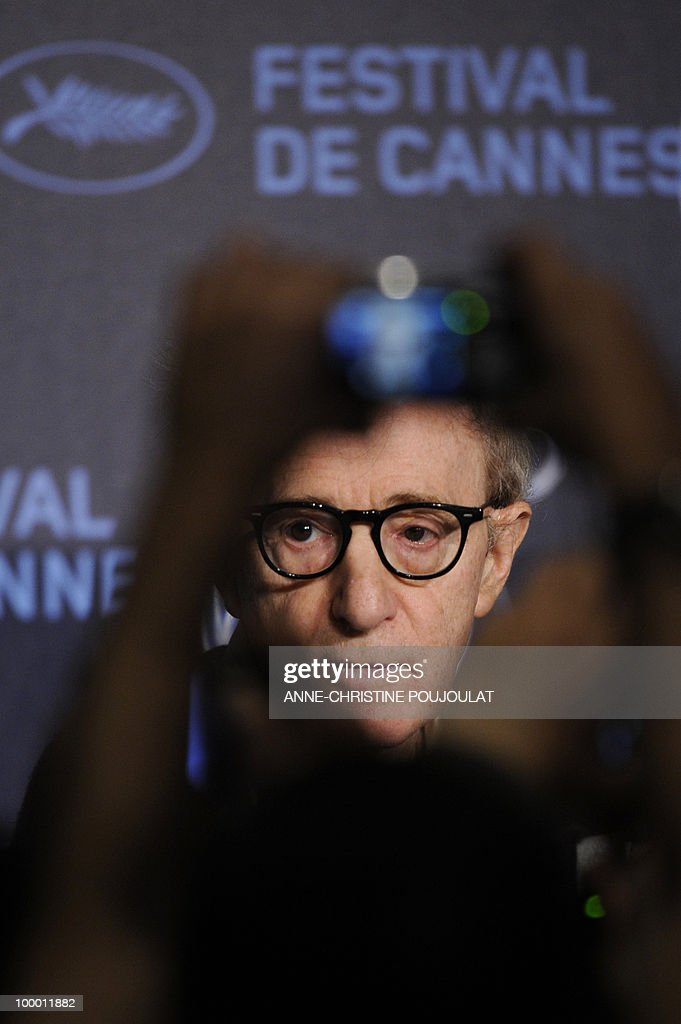 US director Woody Allen attends the press conference of 'You Will Meet a Tall Dark Stranger' presented out of competition at the 63rd Cannes Film Festival on May 15, 2010 in Cannes.