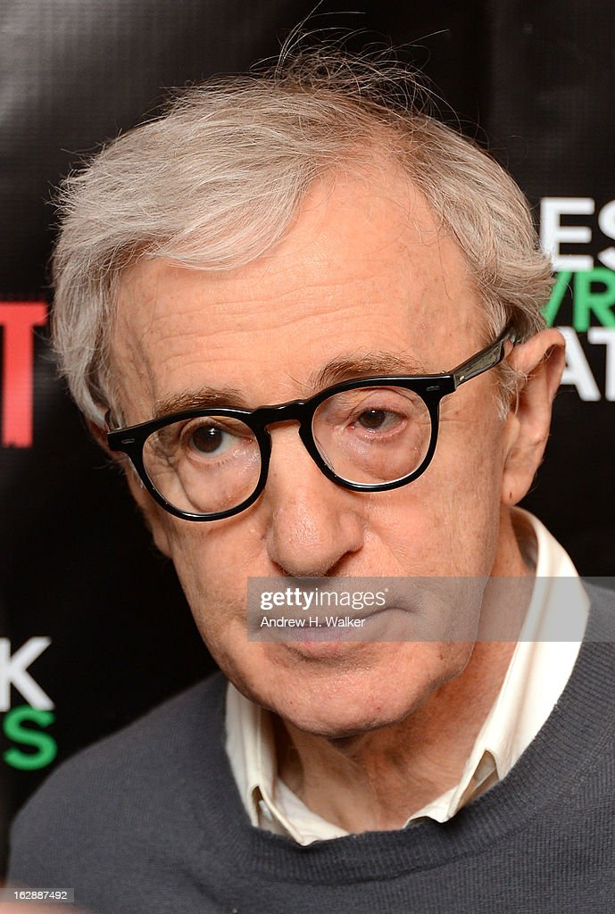 Director <a gi-track='captionPersonalityLinkClicked' href=/galleries/search?phrase=Woody+Allen&family=editorial&specificpeople=202886 ng-click='$event.stopPropagation()'>Woody Allen</a> attends 'The Revisionist' opening night at Cherry Lane Theatre on February 28, 2013 in New York City.