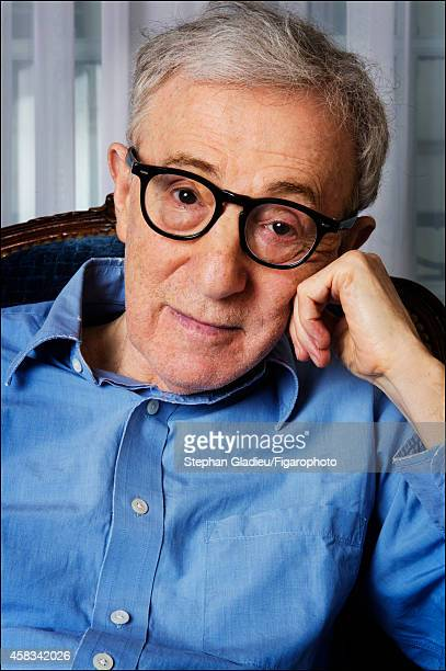 Director Woody Allen is photographed for Le Figaro Magazine on August 28 2014 in Paris France PUBLISHED IMAGE CREDIT MUST READ Stephan...