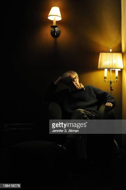 Director Woody Allen is photographed for Los Angeles Times on November 3 2011 in New York City