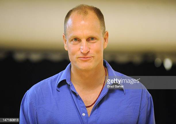 Director Woody Harrelson attends the 'Bullet For Adolf' cast and creative team photo call at The Snapple Theater Center on June 26 2012 in New York...