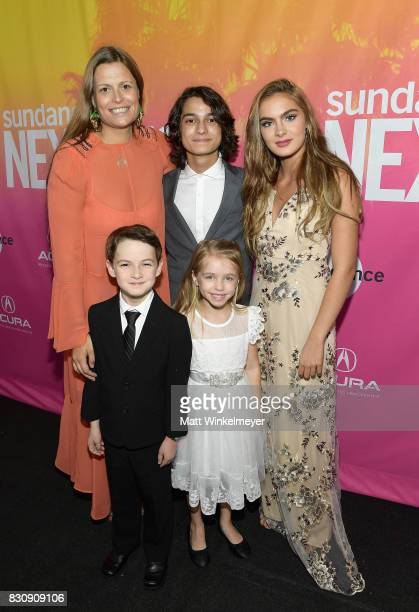 Director / Writer Marianna Palka Jason Maybaum Rio Mangini Kingston Foster and Brighton Sharbino attend 2017 Sundance NEXT FEST at The Theater at The...