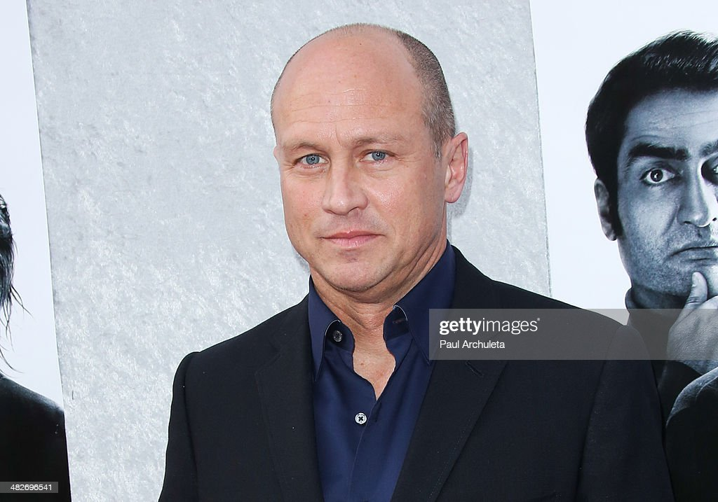 Director / Writer Mike Judge attends the premiere of HBO's 'Silicon Valley' at Paramount Studios on April 3, 2014 in Hollywood, California.