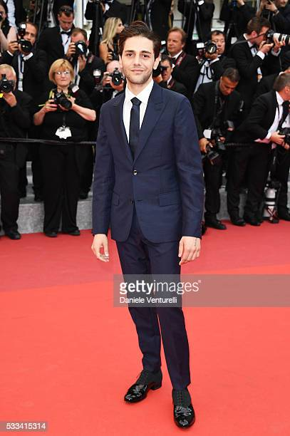 Director Xavier Dolan attends the closing ceremony of the 69th annual Cannes Film Festival at the Palais des Festivals on May 22 2016 in Cannes France
