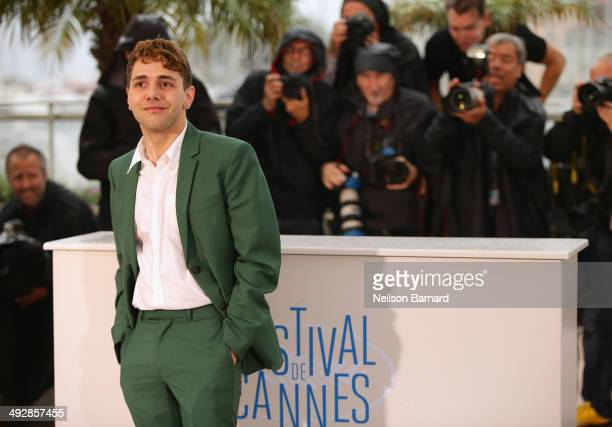 Director Xavier Dolan attends the 'Mommy' photocall during the 67th Annual Cannes Film Festival on May 22 2014 in Cannes France