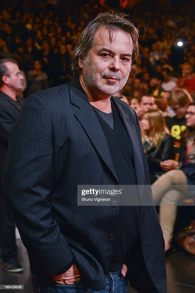 Director Xavier Durringer attends the closing ceremony of 'Lumiere 2013, Grand Lyon Film Festival' on October 20, 2013 in Lyon, France.