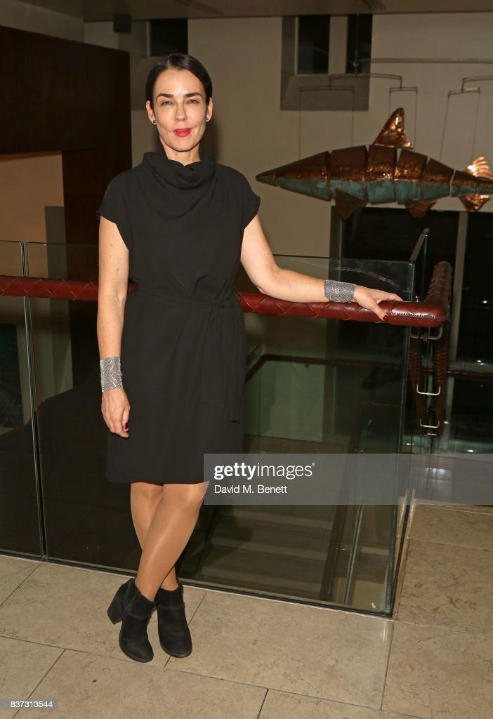 Director Yael Farber attends the press night after party of 'Knives In Hens' at The Hospital Club on August 22, 2017 in London, England.