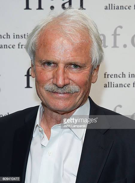 Director Yann ArthusBertrand attend 'Human' Special Screening at French Institute Alliance Francaise on September 20 2016 in New York City