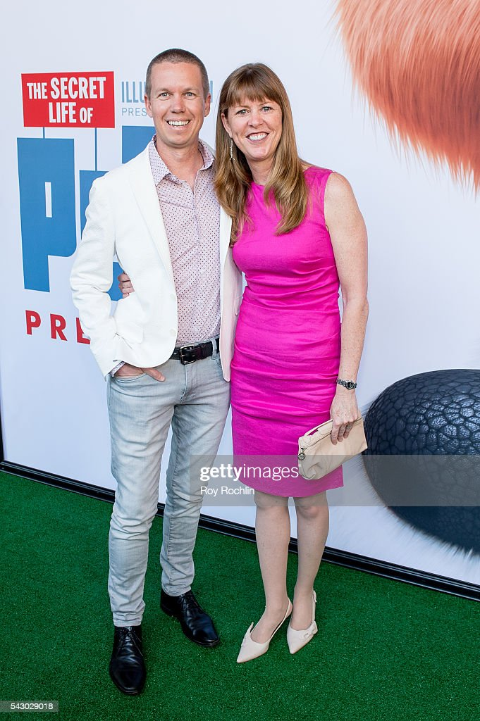 Director Yarrow Cheney attends 'Secret Life Of Pets' New York Premiere on June 25, 2016 in New York City.
