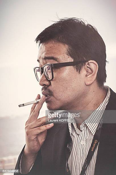 Director Yeon Sangho is photographed for Self Assignment on May 14 2016 in Cannes France