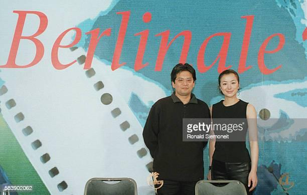 Director Yohimitsu Morita and actress Kyoka Suzuki