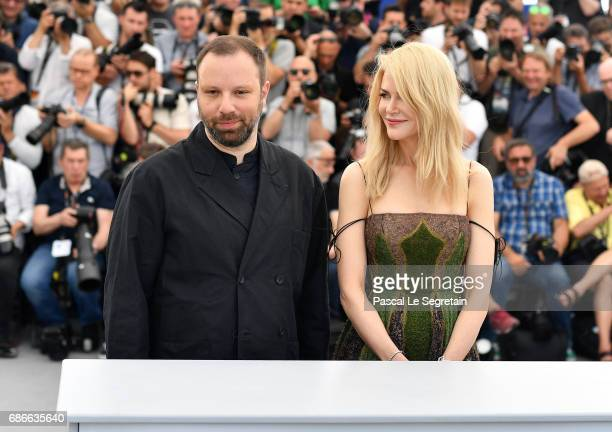 Director Yorgos Lanthimos and actress Nicole Kidman attend the 'The Killing Of A Sacred Deer' photocall during the 70th annual Cannes Film Festival...
