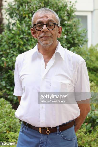 Director Yousry Nasrallah poses during the Cineasti del Presente Jury Photocall at the 70th Locarno Film Festival on August 3 2017 in Locarno...