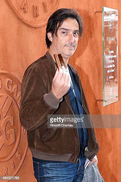 Director Yvan Attal attends the Roland Garros French Tennis Open 2014 Day 5 on May 29 2014 in Paris France