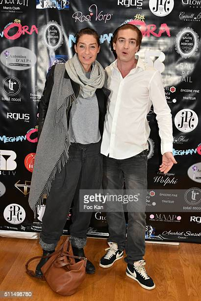 Director Yzabel Dzisky and Ludovic Chancel attend The Meghanora Auction Fashion Show to Benefit Meghanora Children Care Association Photocall at...