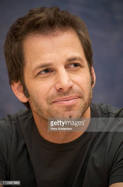 Director Zack Snyder at the 'Watchmen' press conference at the Beverly Hilton Hotel on February 19 2009 in Beverly Hills California
