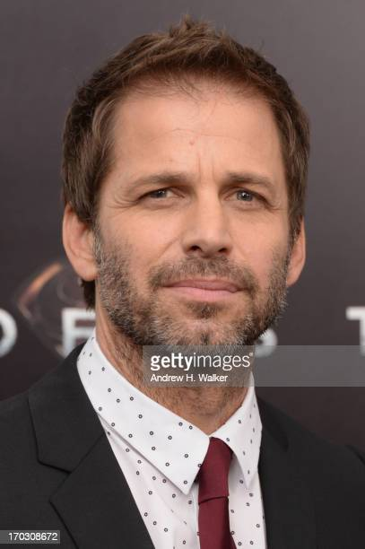 Director Zack Snyder attends the 'Man Of Steel' world premiere at Alice Tully Hall at Lincoln Center on June 10 2013 in New York City