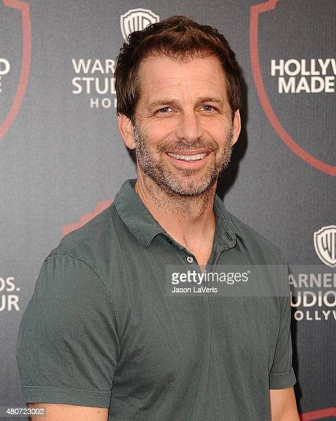 Director Zack Snyder attends the unveiling of Warner Bros Studio expansion at Warner Bros Studios on July 14 2015 in Burbank California